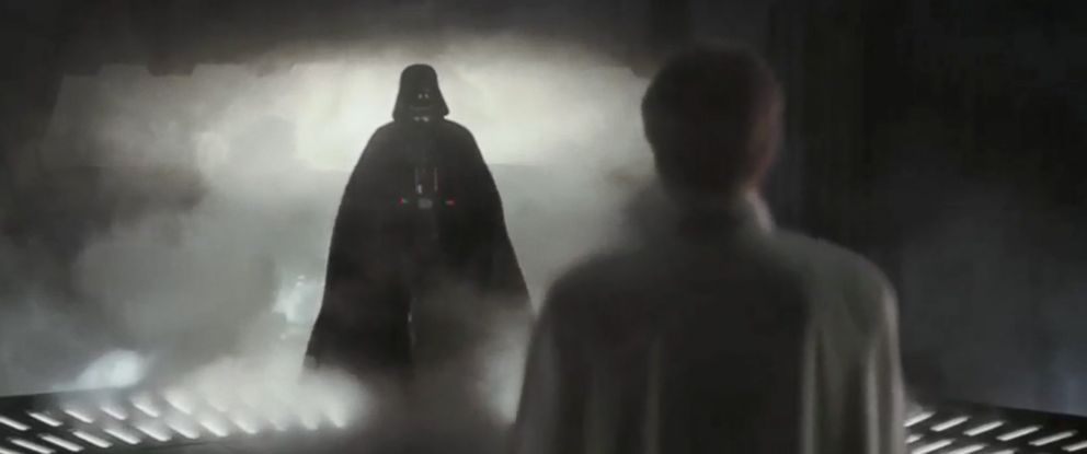 """PHOTO: Darth Vader appears in the trailer for """"Rogue One: A Star Wars Story."""""""