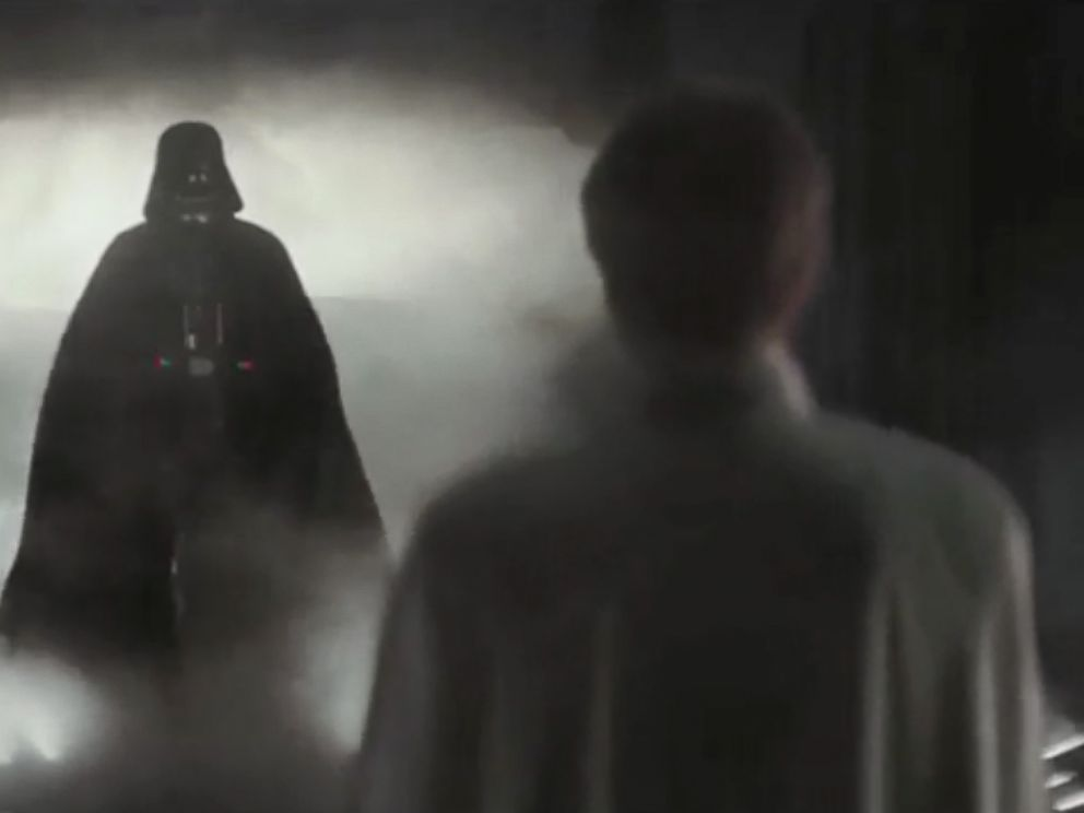 7793b63d PHOTO: Darth Vader appears in the trailer for Rogue One: A Star Wars Story