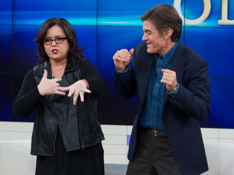 PHOTO: Rosie ODonnell, left, and Dr. Oz, right, are pictured.