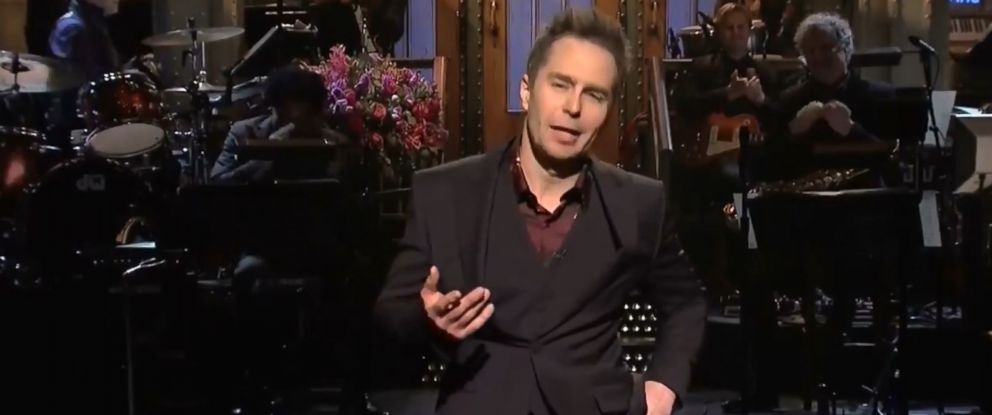 "PHOTO: Actor Sam Rockwell on ""Saturday Night Live"" on Jan. 13, 2018."