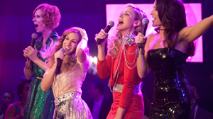 """PHOTO From left: Cynthia Nixon, Sarah Jessica Parker, Kim Cattrall and Kristin Davis are shown in a scene from """"Sex and the City 2."""""""
