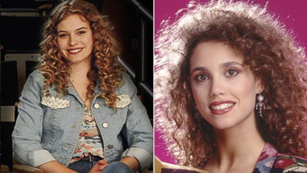 "PHOTO: Tiera Skovbye stars as Elizabeth Berkley in Lifetimes ""The Unauthorized Saved by the Bell Story."""
