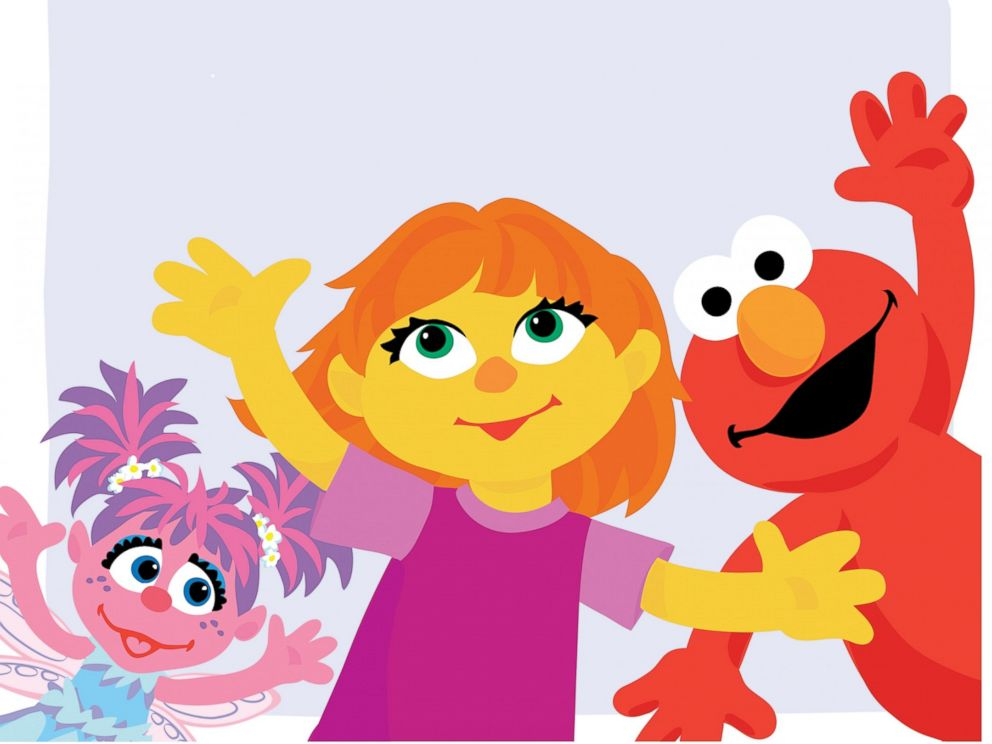 PHOTO: Sesame Street introduced Julia a new character with autism.