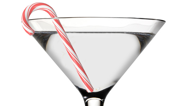 PHOTO: Skinnygirl Cocktail's candycane martini is shown here.