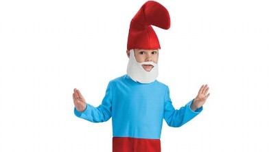 PHOTO: Smurf Halloween costume.