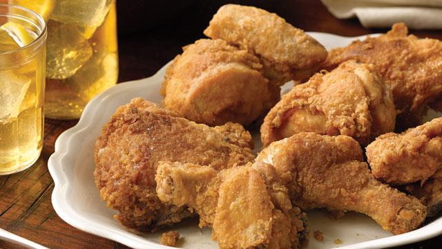 PHOTO: Paula Deen's deep fried chicken is shown here.