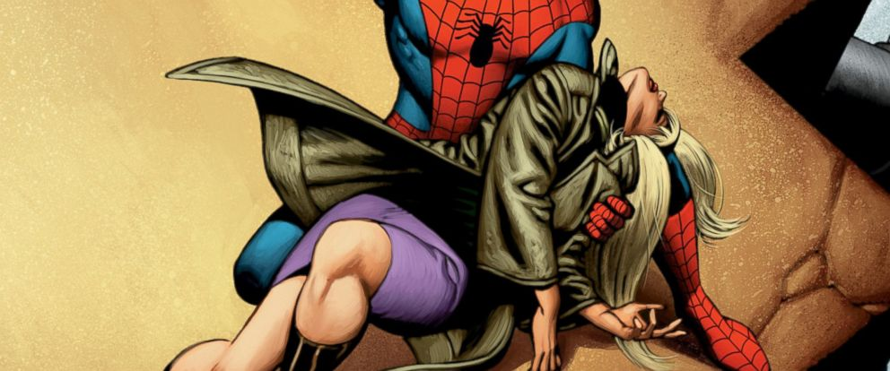 """PHOTO: Gwen Stacy was killed by the Green Goblin in the June, 1973 issue of """"Amazing Spider-Man."""""""