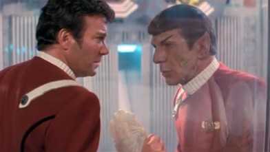 PHOTO: Death of Spock in Wrath of Khan