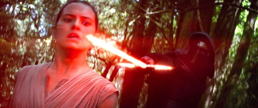 "PHOTO: Daisy Ridley is seen in a still made from a trailer for ""Star Wars: Episode VII - The Force Awakens"" posted to YouTube on Nov. 6, 2015."