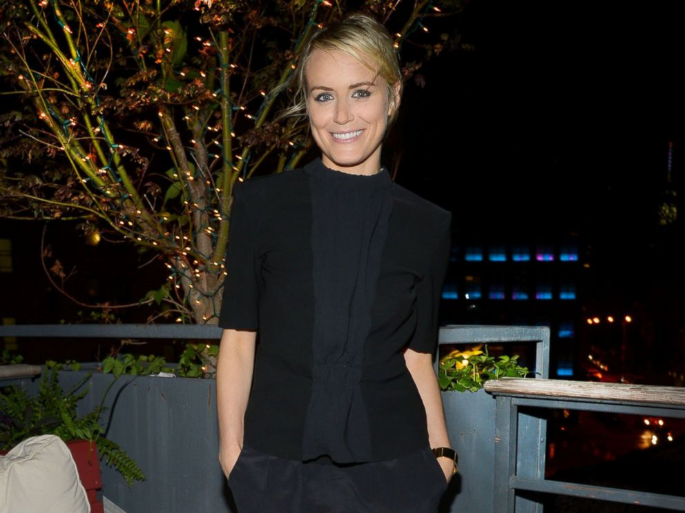 PHOTO: Taylor Schilling celebrates her 30th birthday at CATCH Roof in New York City on July 26, 2014.