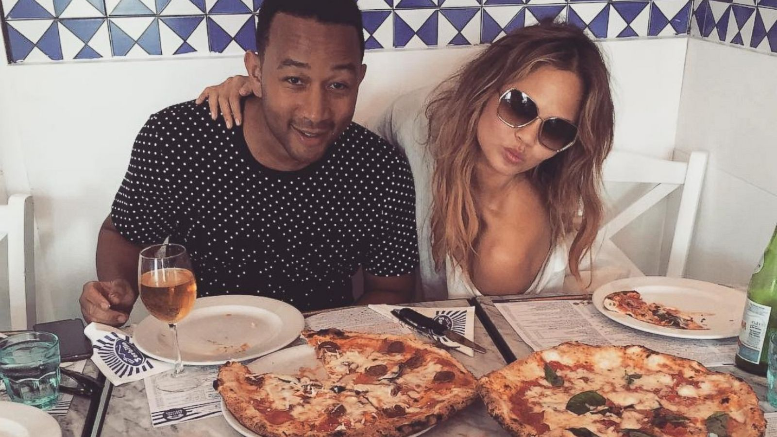 Chrissy Teigen, Cindy Crawford and Others Share Photos From Their Summer  Getaways - ABC News