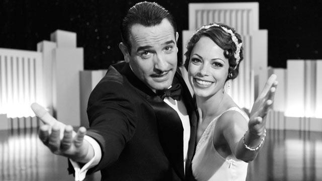 """PHOTO: """"The Artist"""" starring Jean Dujardin and Berenice Bejo."""