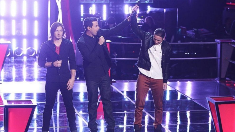 The Voice Recap Adam Pulls Off Steal In The Battles Round Two Abc News