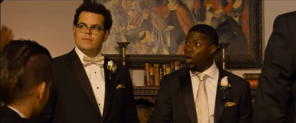 """PHOTO: A scene from the trailer for """"The Wedding Ringer""""."""