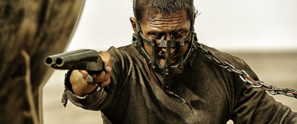 """PHOTO: Tom Hardy appears in an image from """"Mad Max: Fury Road."""""""