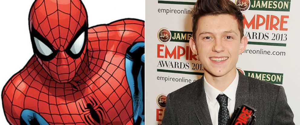PHOTO: Tom Holland was selected to play Peter Parker/Spider-Man in the next Spider-Man film, due on July 28, 2017.