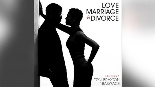 "PHOTO: Toni Braxton and Babyfaces album ""Love Marriage & Divorce"""