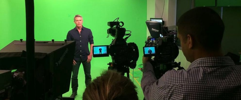 "PHOTO: ""Trivago Guy"" Tim Williams stops by ABC News to talk about his unexpected success."