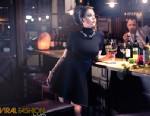 PHOTO: Lady Gagas little sister, Natali Germanotta, 20, was featured in a photoshoot for ViralFashion.com that was shot at their fathers restaurant.