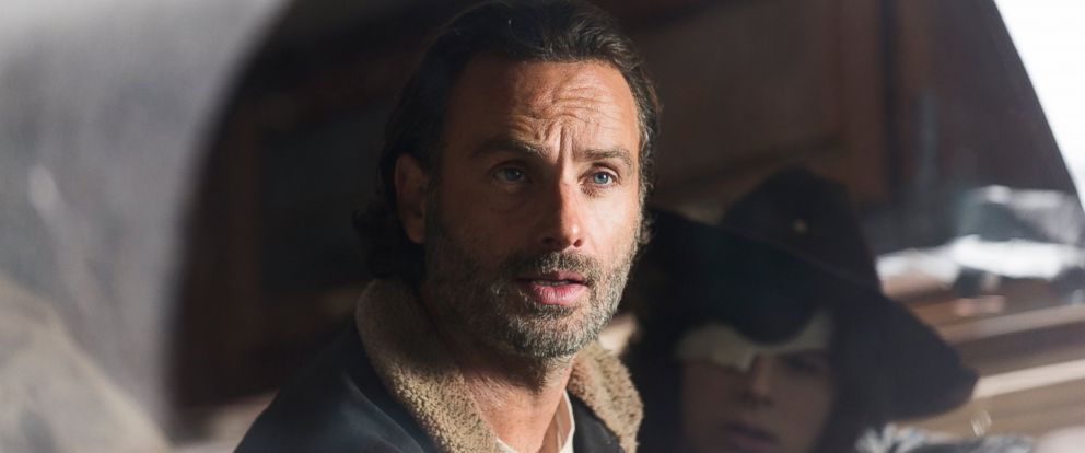 """PHOTO: Andrew Lincoln is Rick Grimes in an episode of """"The Walking Dead,"""" season 6."""