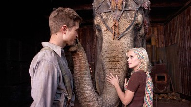 PHOTO: Marlena (Reese Witherspoon) and Jacob (Robert Pattinson) come together through their compassion for a special elephant named Rosie.