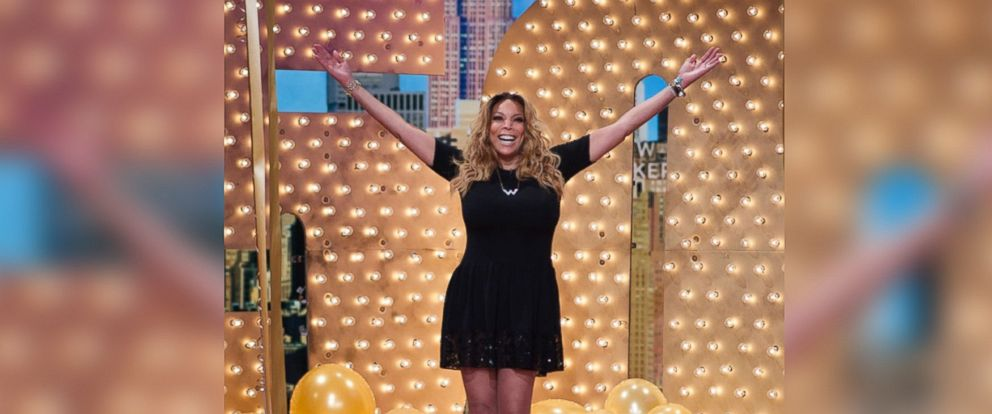 Wendy Williams celebrates her 50th birthday on The Wendy Williams Show on July 18, 2014.