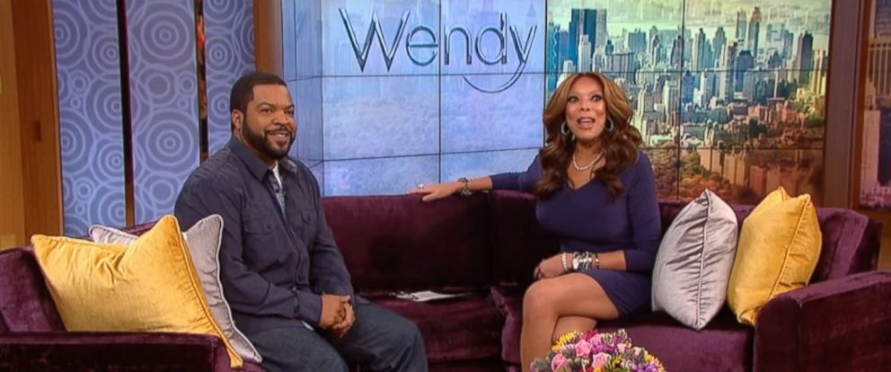 PHOTO: Ice Cube as a guest on the Wendy Williams show on Jan. 14, 2016.