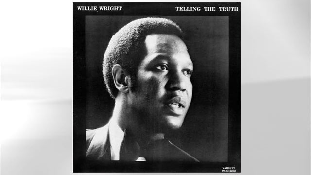"""PHOTO: The album cover for Willie Wrights """"Telling the Truth""""."""