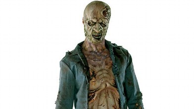 PHOTO: Zombie Halloween costume.