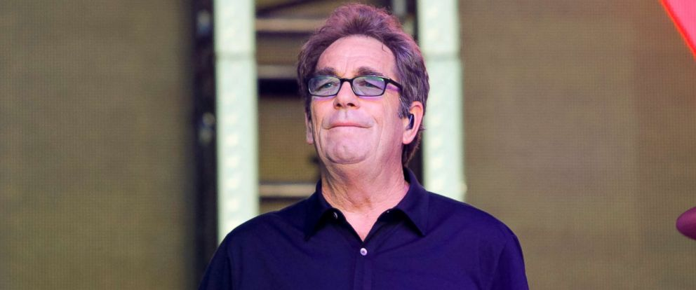 PHOTO: Huey Lewis of Huey Lewis and the News performs at the Lost Lake Music Festival, Oct. 21, 2017, in Phoenix.