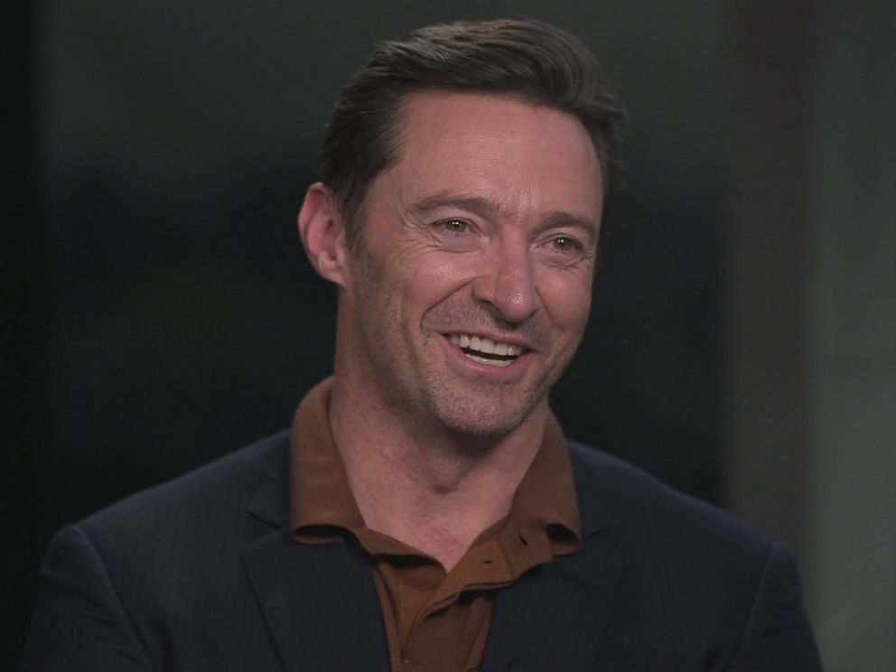 PHOTO: Hugh Jackman talks about the making of The Greatest Showman and what it was like to say goodbye to Logan.