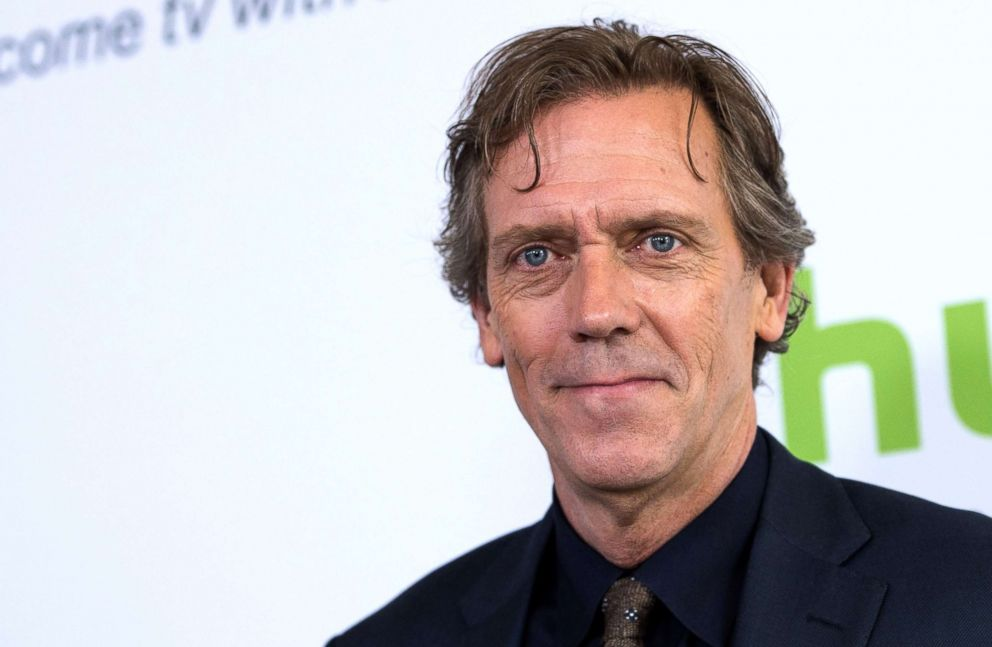 PHOTO: Actor Hugh Laurie attends the 2016 Hulu TCA Summer Press Tour in Beverly Hills, Calif.