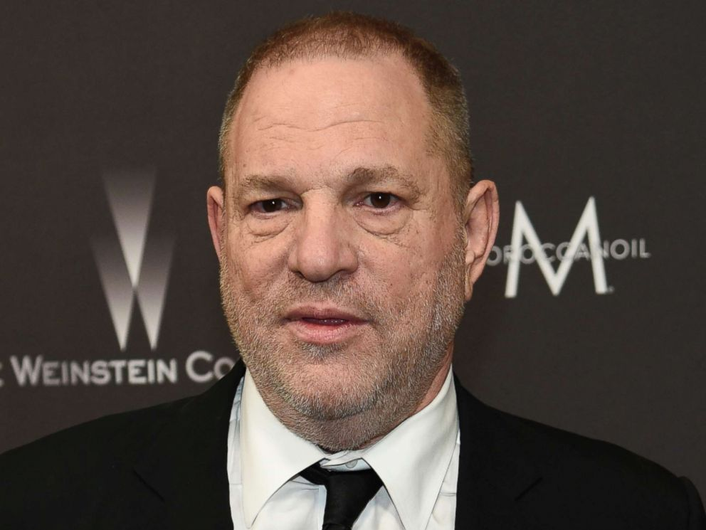 PHOTO: Harvey Weinstein, shown Jan. 8, 2017, when he arrived at The Weinstein Company and Netflix Golden Globes afterparty in Beverly Hills, Calif.