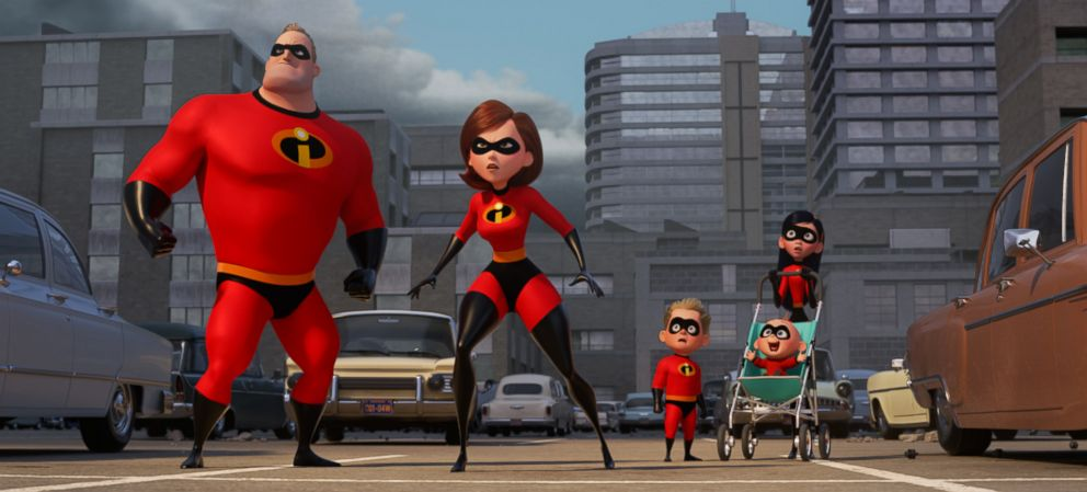 PHOTO: A scene from Incredibles 2.