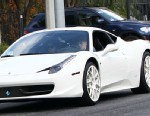 PHOTO: Justin Bieber and Selena Gomez are seen driving around in his Ferrari, Dec. 3, 2012, in Los Angeles.