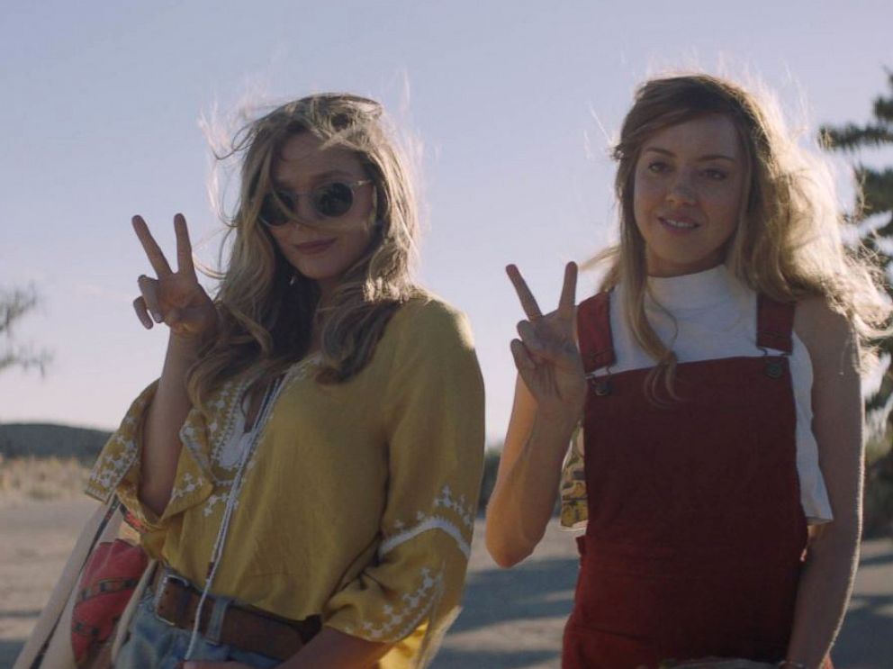 PHOTO: Elizabeth Olsen and Aubrey Plaza in a still from the movie Ingrid Goes West (2017).