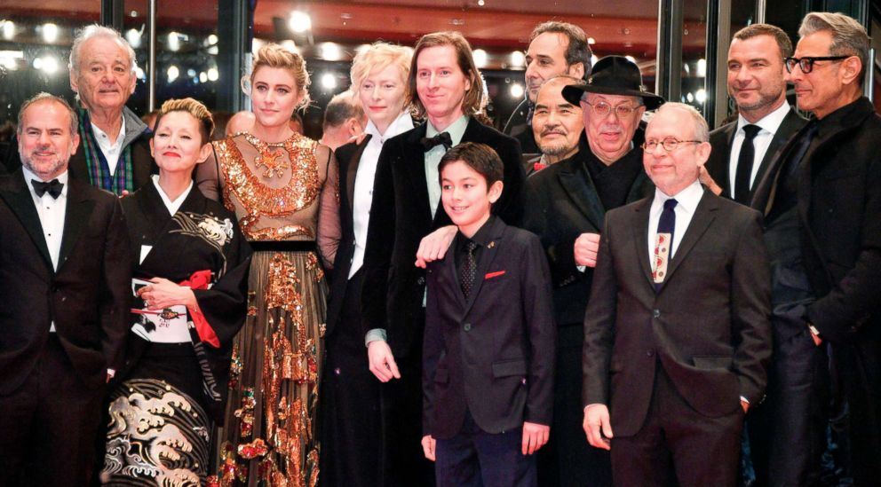 PHOTO: The team of the movie Isle of Dogs, attend the opening ceremony of the 68th Berlinale film festival, with the premiere of their film, on Feb. 15, 2018, at the Berlinale Palace in Berlin.