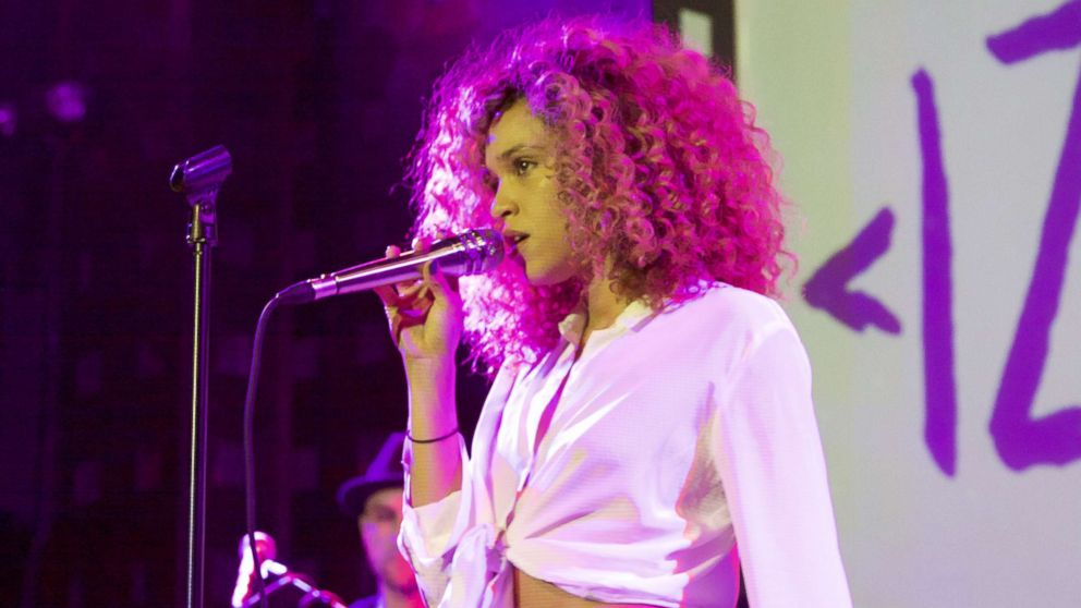 Izzy Bizu, pictured performing at Sounds of Brazil in New York City on Nov. 9, 2017, said she developed a love for music while at boarding school.