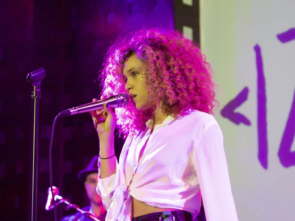 PHOTO: Izzy Bizu, pictured performing at Sounds of Brazil in New York City on Nov. 9, 2017, said she developed a love for music while at boarding school.