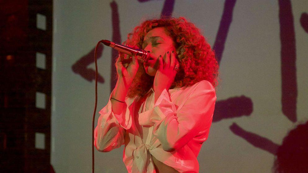 Izzy Bizu performs at Sounds of Brazil in New York City on Nov. 9, 2017.