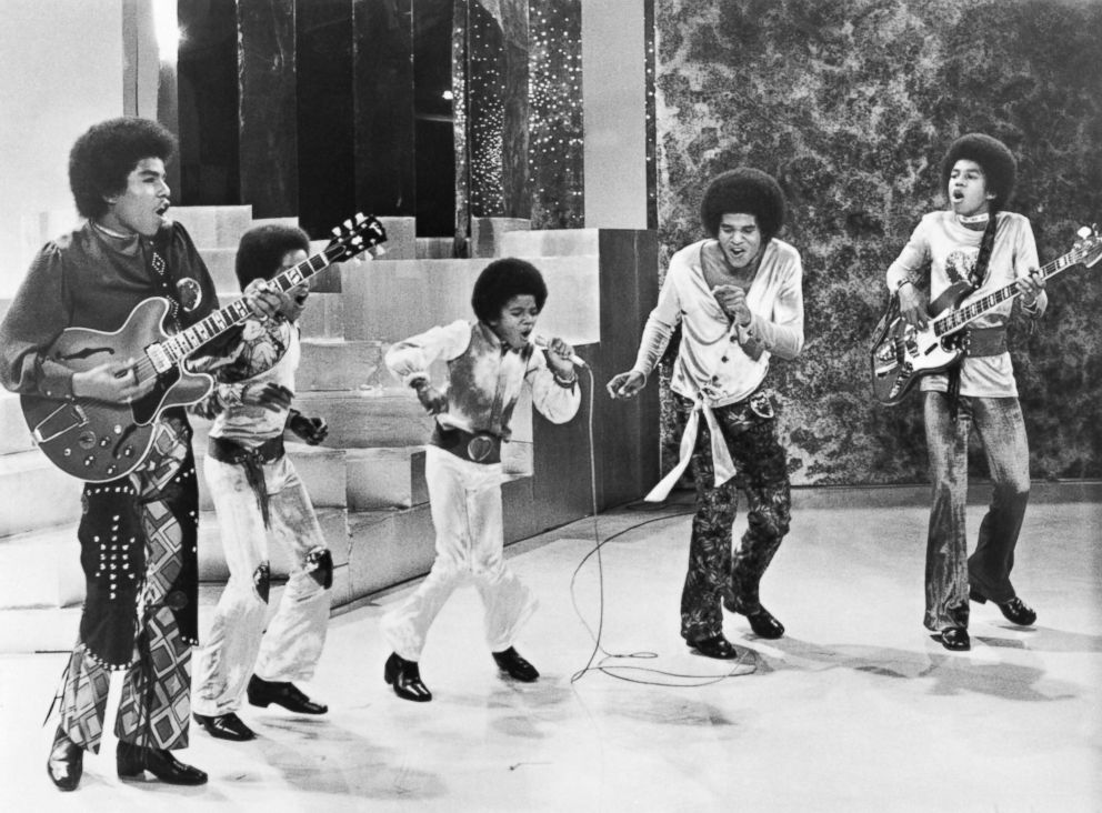 PHOTO: The Jackson 5 performing on their own TV special, Sept. 19, 1971.