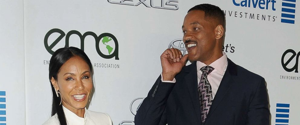PHOTO: Actress Jada Pinkett Smith and actor Will Smith attend the 26th annual EMA Awards at Warner Bros. Studios on Oct. 22, 2016 in Burbank, Calif.