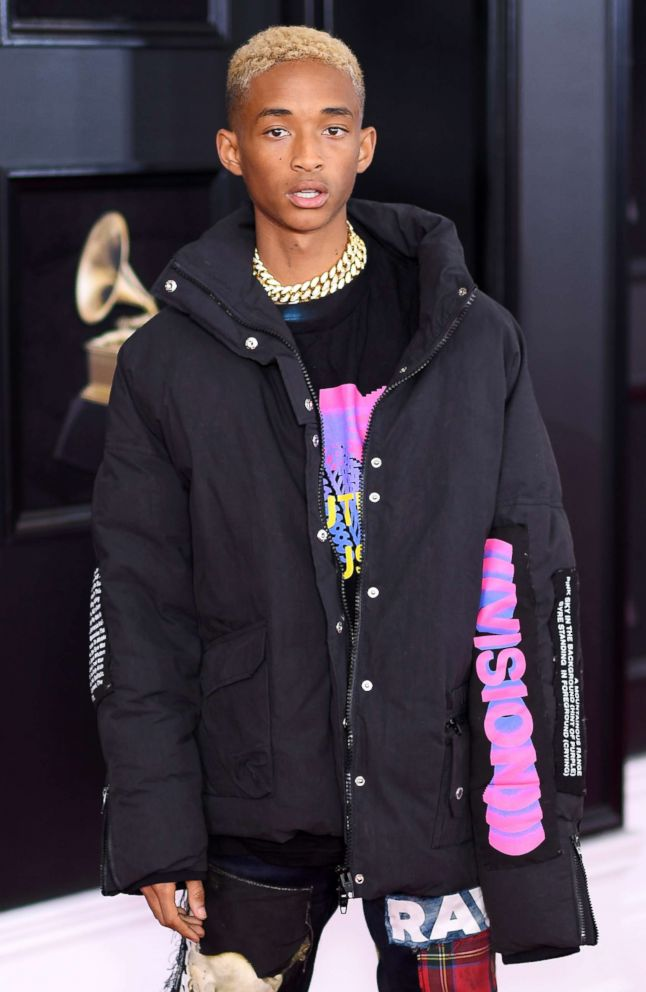 PHOTO: Jaden Smith attends the 60th Annual GRAMMY Awards at Madison Square Garden on Jan. 28, 2018 in New York.