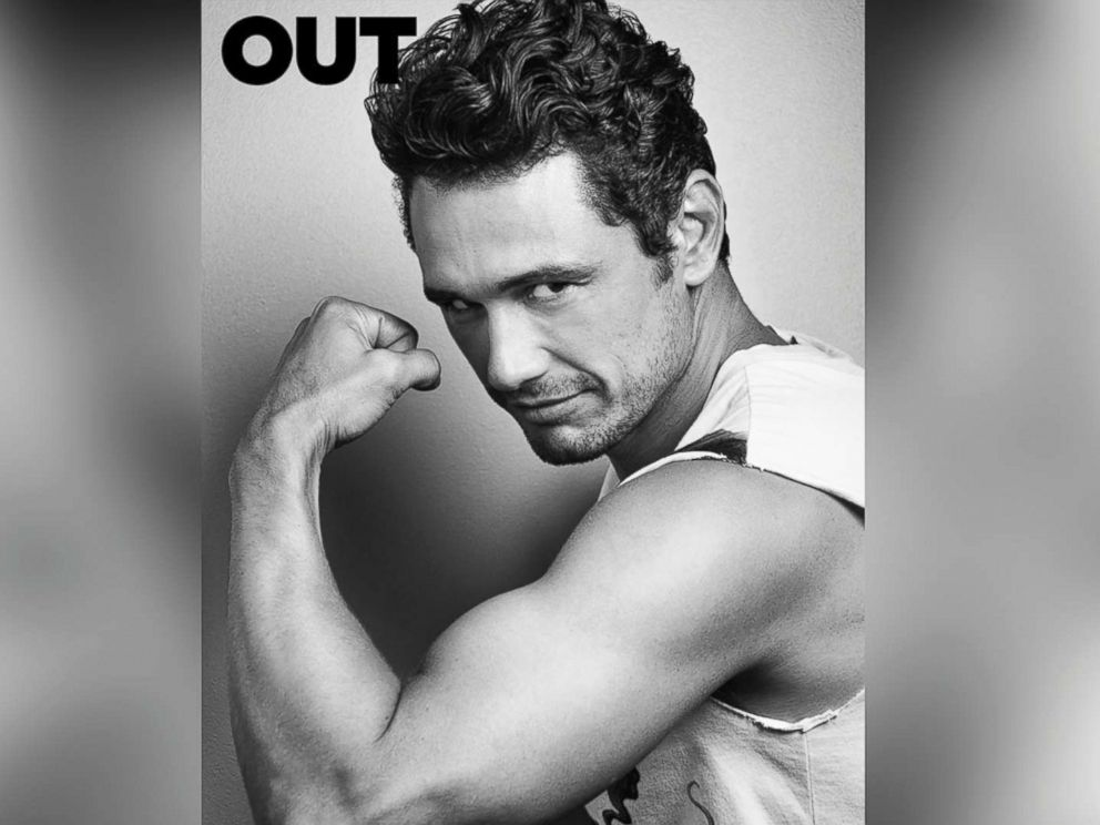 PHOTO: James Franco on the cover of Out Magazine.