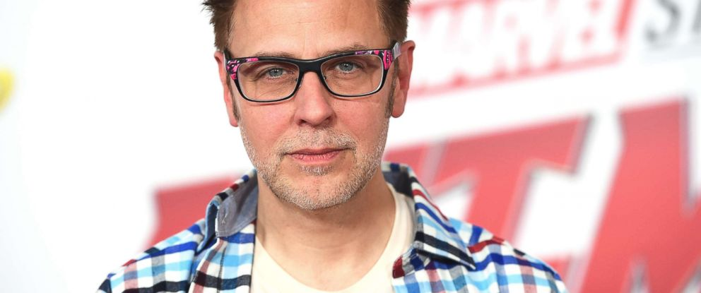 """PHOTO: James Gunn arrives at the Los Angeles premiere of """"Ant-Man and the Wasp"""" on June 25, 2018."""