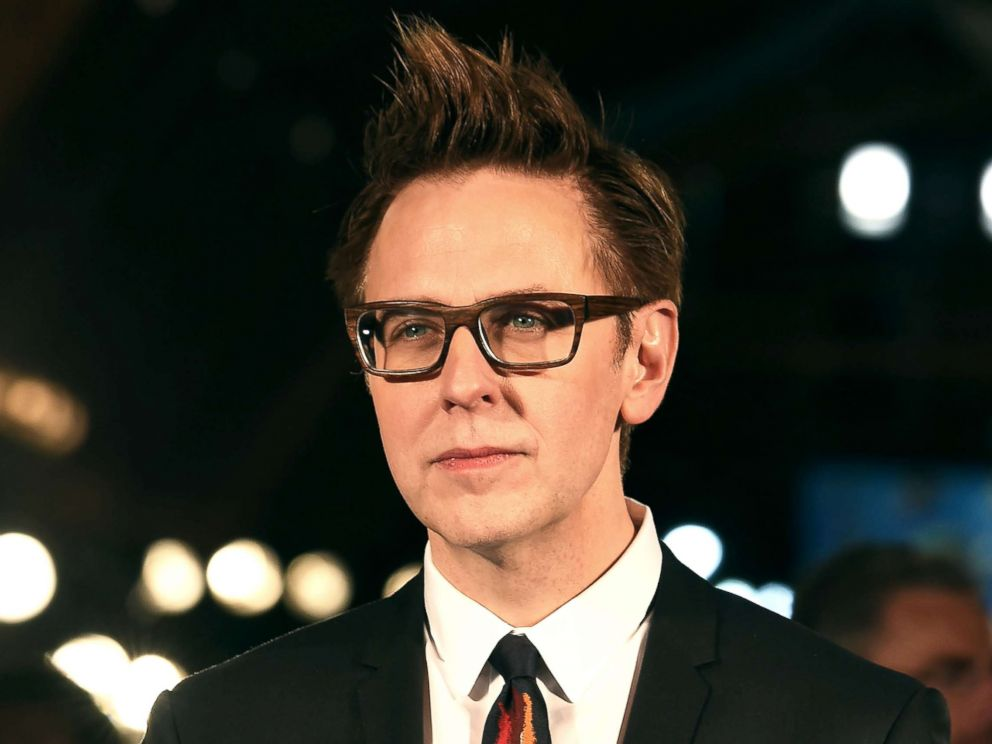 PHOTO: James Gunn attends the Guardians of the Galaxy Vol.2 red carpet on April 10, 2017, in Tokyo.