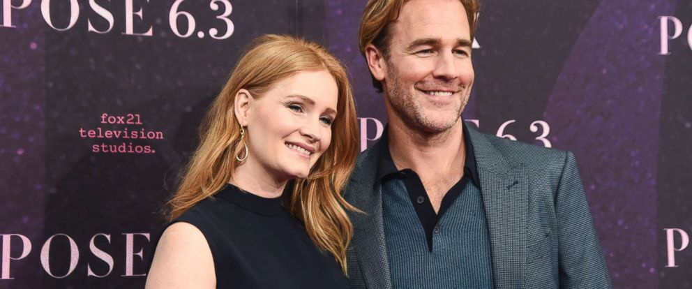 PHOTO: James Van Der Beek with wife Kimberly Brook attend the New York premiere of FX series Pose on May 17, 2018, in New York City.