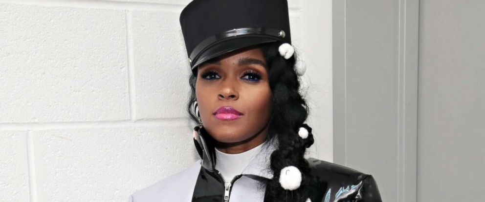 "PHOTO: Janelle Monae attends the ""Dirty Computer"" screening at The Film Society of Lincoln Center, Walter Reade Theatre, April 23, 2018, in New York City."