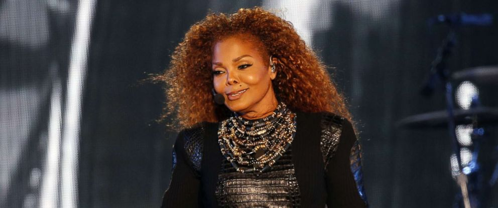 PHOTO: Janet Jackson performs during the Dubai World Cup horse racing event, March 26, 2016 at the Meydan racecourse in the United Arab Emirate of Dubai.