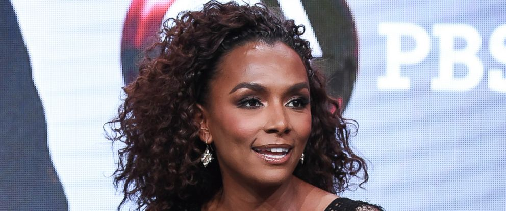 "In this July 31, 2017 file photo, Janet Mock participates in the ""Finding Your Roots"" panel during the PBS portion of the 2017 Summer TCAs in Beverly Hills, Calif."